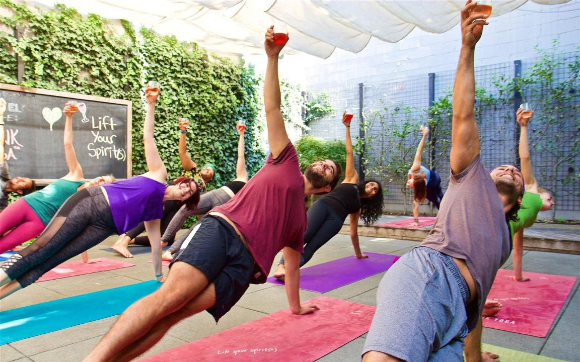 Get Fit While Also Drinking Cocktails At This Drunk Yoga Retreat In Mexico Travel Leisure