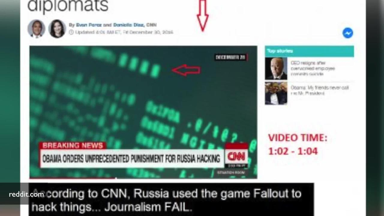 CNN Used Fallout 4 Image To Show How Russians Hack Stuff