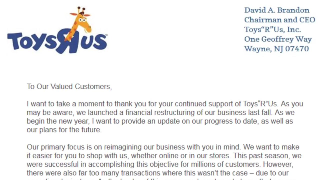 336fcfd27005c0 Toys 'R' Us Closing All Stores on June 29 | PEOPLE.com