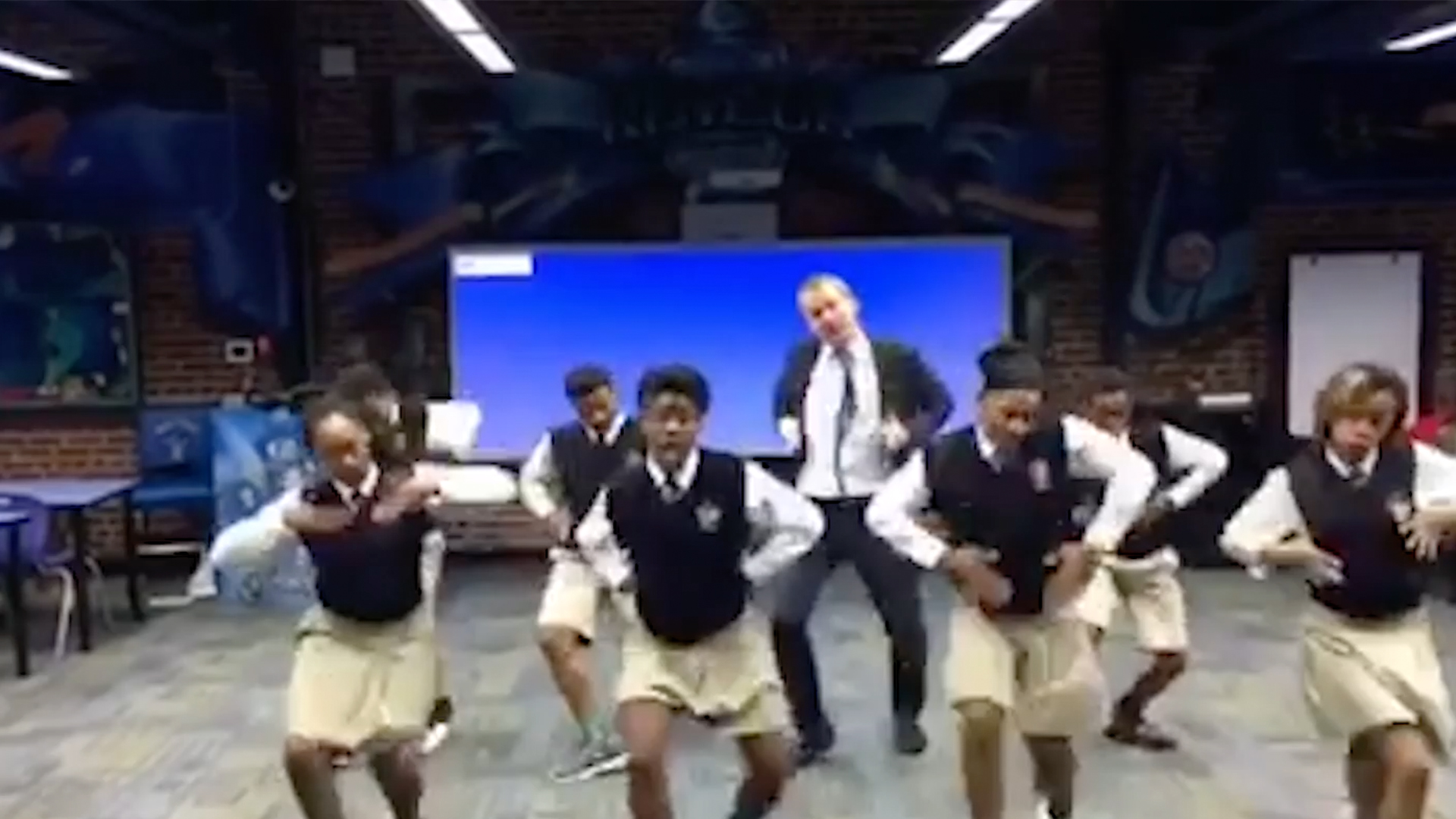 Ron Clark Dances with Students from Academy in Viral Clip
