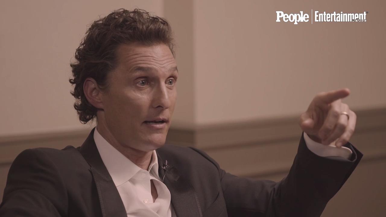 Matthew McConaughey Talks About The Night He Met Wife Camila