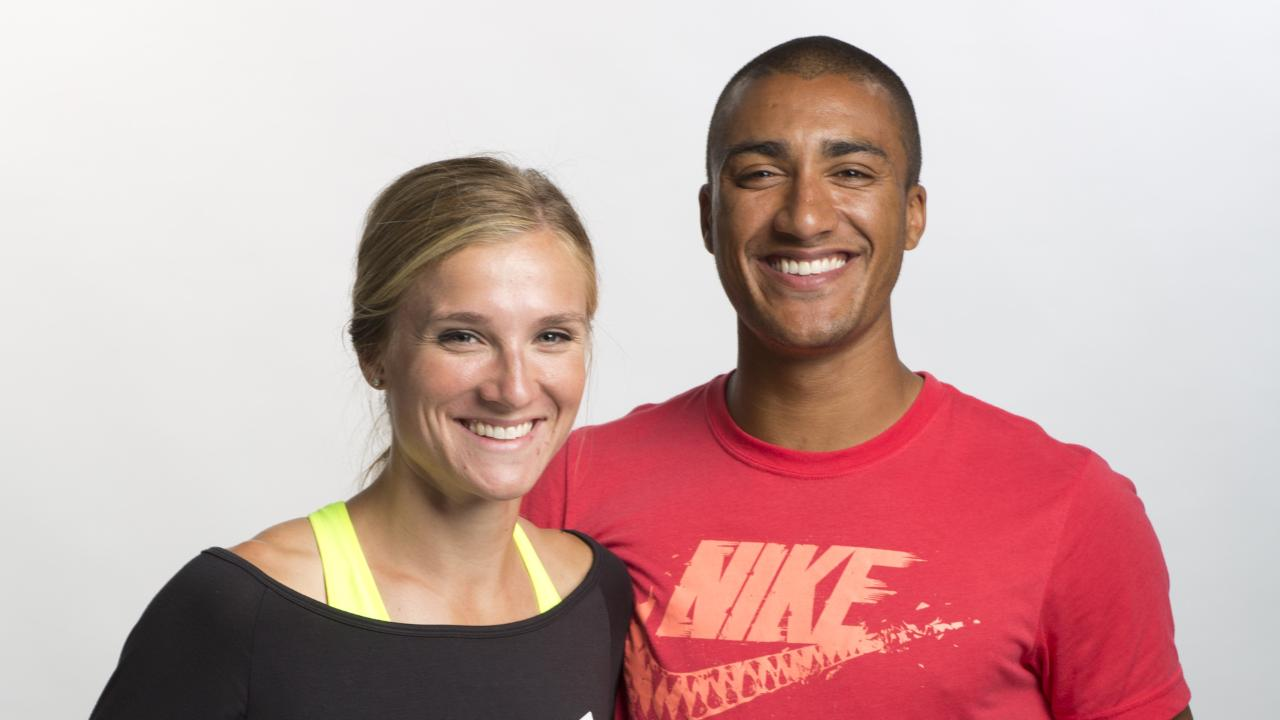 brianne theisen eaton wedding. how ashton eaton and his wife keep up the romance amid olympic competition | people.com brianne theisen wedding n