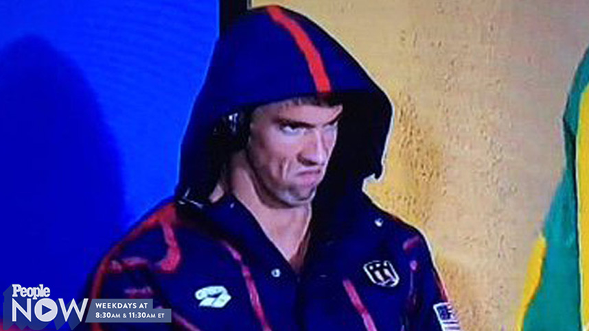WATCH: Michael Phelps's Intense Face Launches a Thousand Memes Before Race  Against Chad le Clos