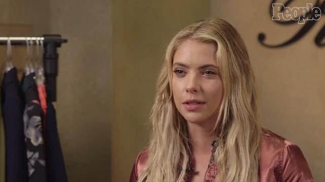 Ashley benson talks skin and her spontaneous pink hair people ive always been super open with posting pictures on instagram or snapchat with pimple cream everywhere because i think its super cool to tell them urmus Choice Image