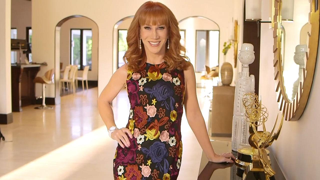 Kathy Griffin posts topless snap on Twitter Daily