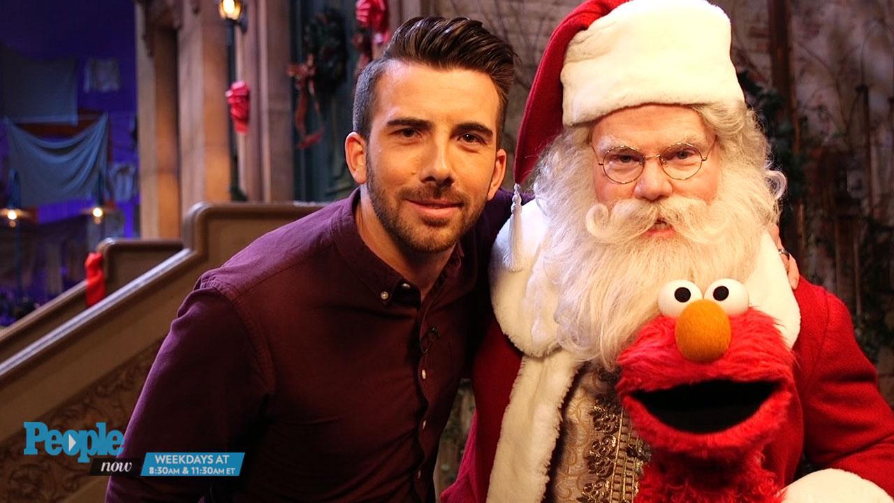 Jim Gaffigan Plays Santa Alongside Elmo in Once Upon a Sesame ...