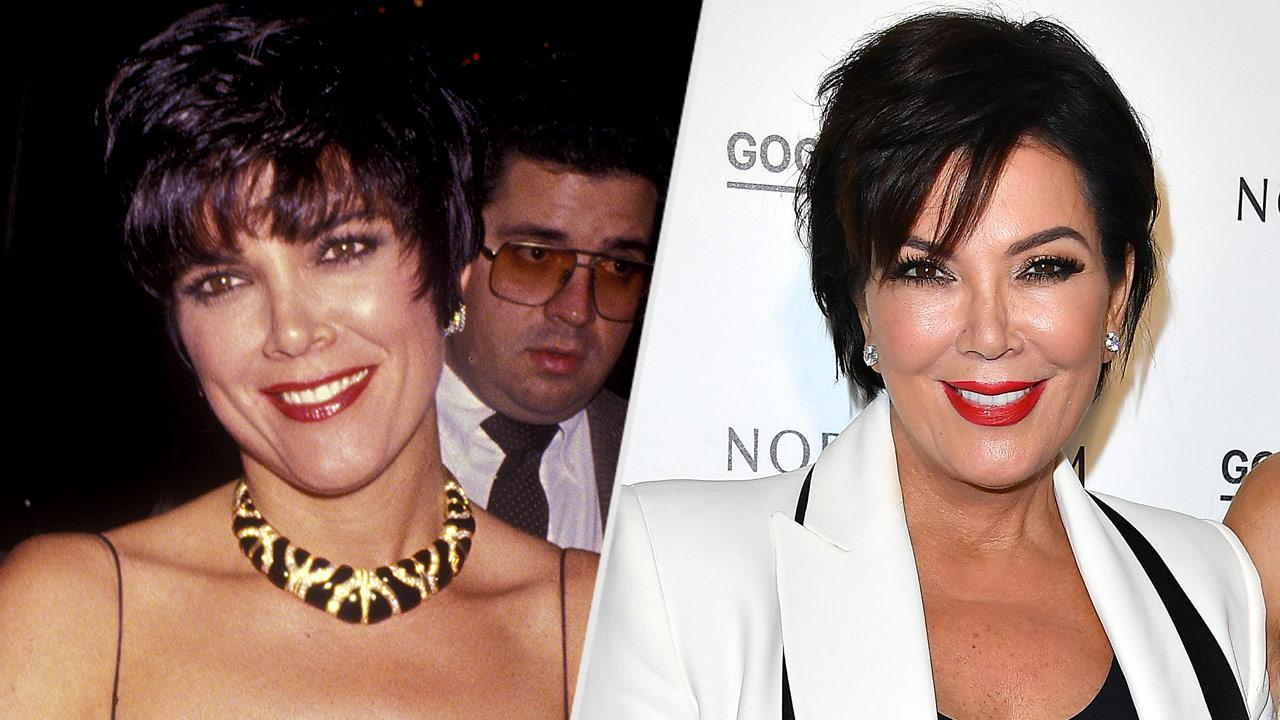 Kris Jenner\'s Changing Looks