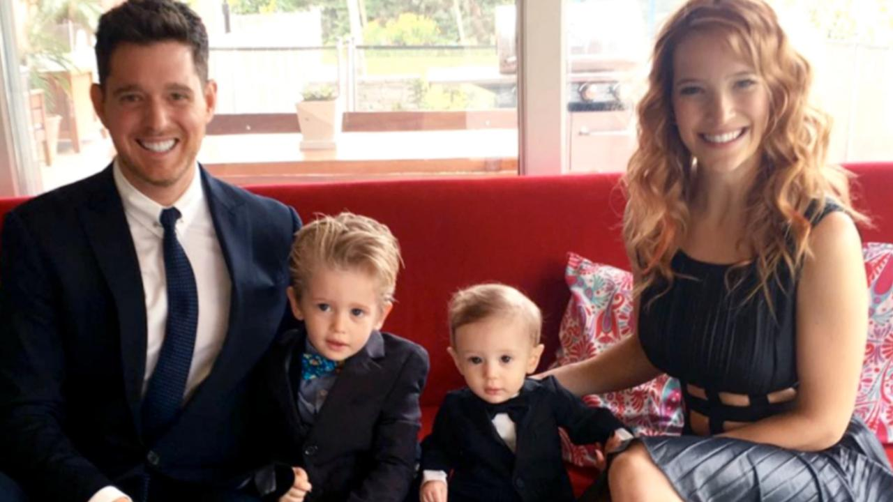 michael buble u0027s son noah has been diagnosed with cancer