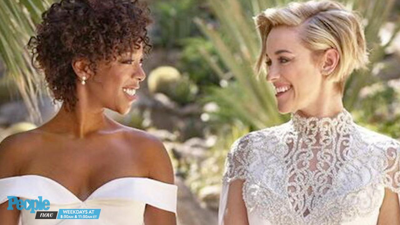 Orange Is The New Black Wedding.Orange Is The New Black S Samira Wiley And Lauren Morelli Are Married