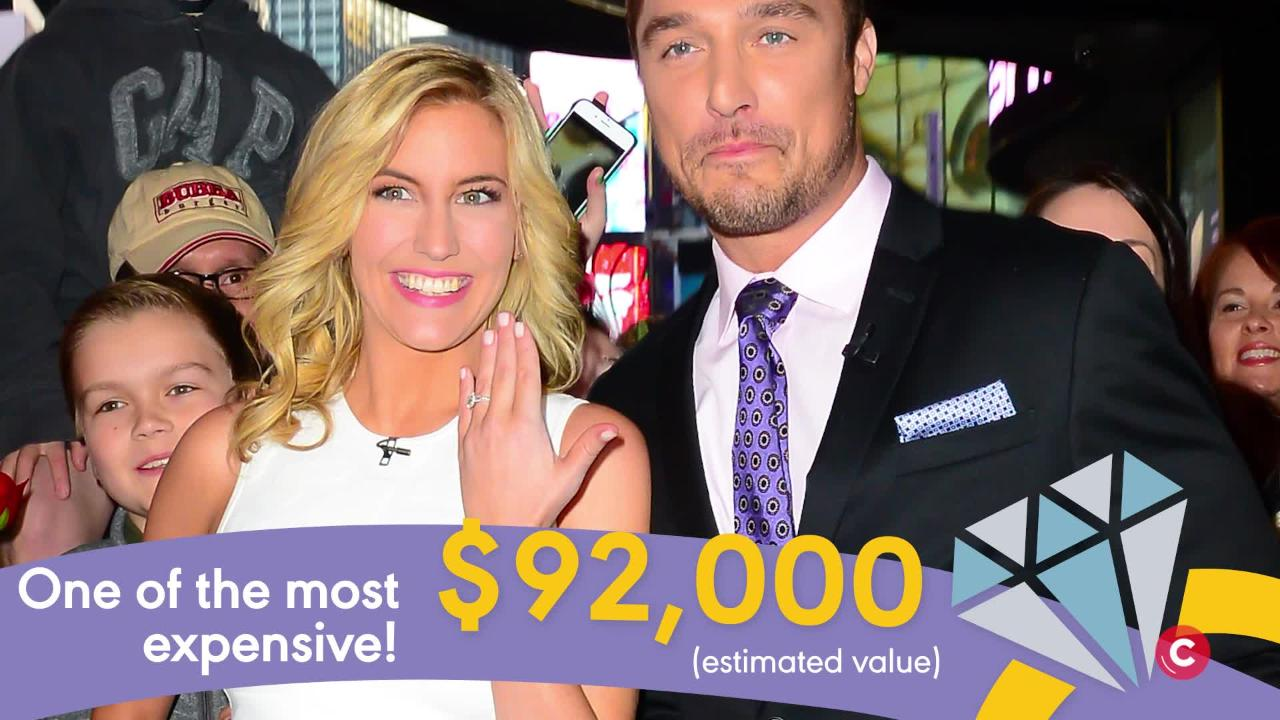 The Bachelor Engagement Rings Cost How Much?!