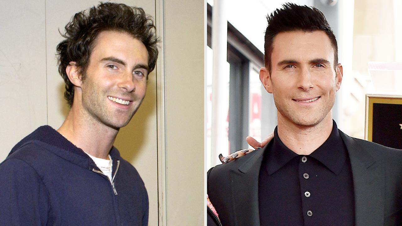 Behati Prinsloo Cuts Adam Levines Hair Adam Levine Haircut Photos