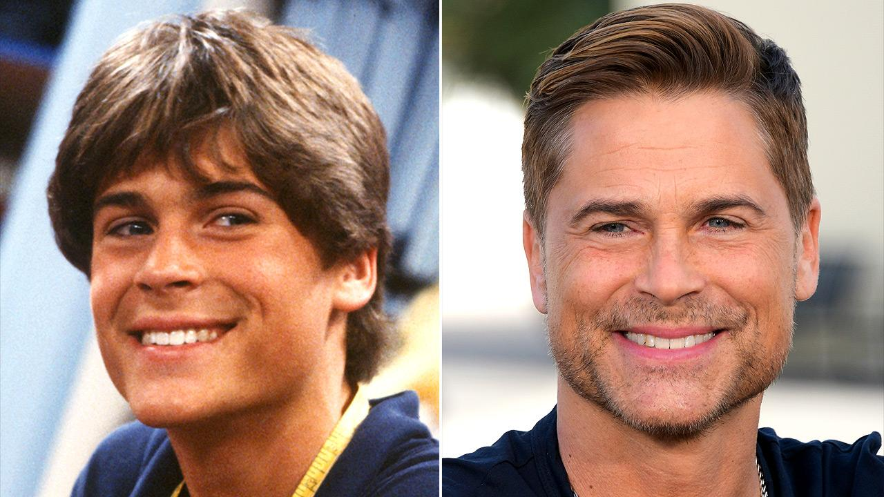 Rob Lowe's Changing Looks!