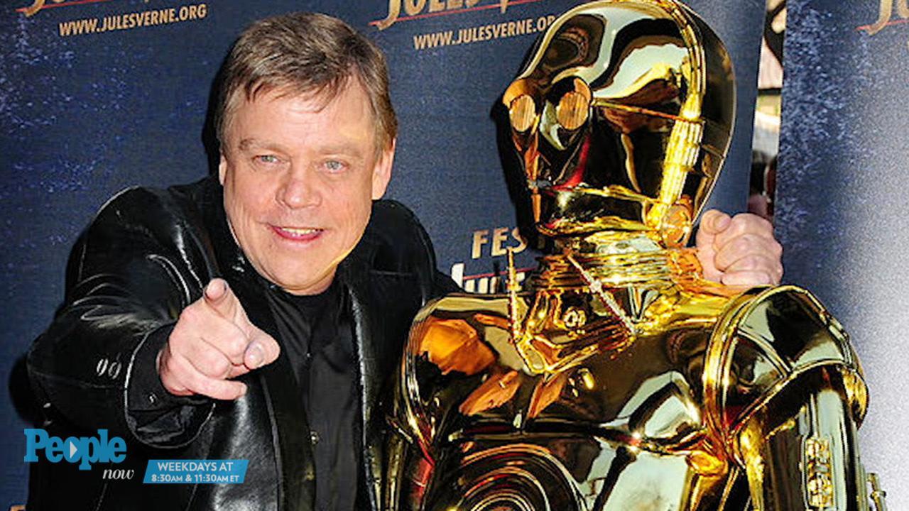 Mark Hamill shares Star Wars photo from first shoot day as Luke Skywalker