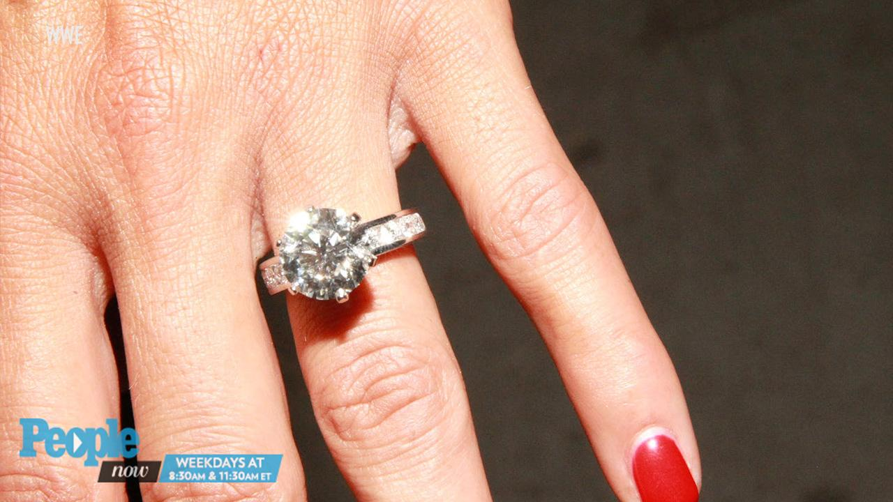 How To Wear Wedding And Engagement Rings 40 Lovely RELATED VIDEO Nikki Bella