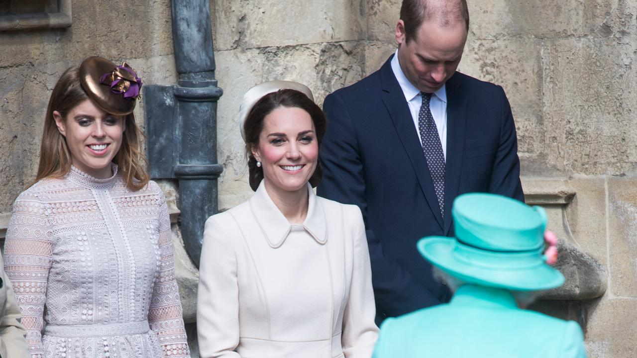 Kate Middleton at Easter Services with the Queen: Photos | PEOPLE.com