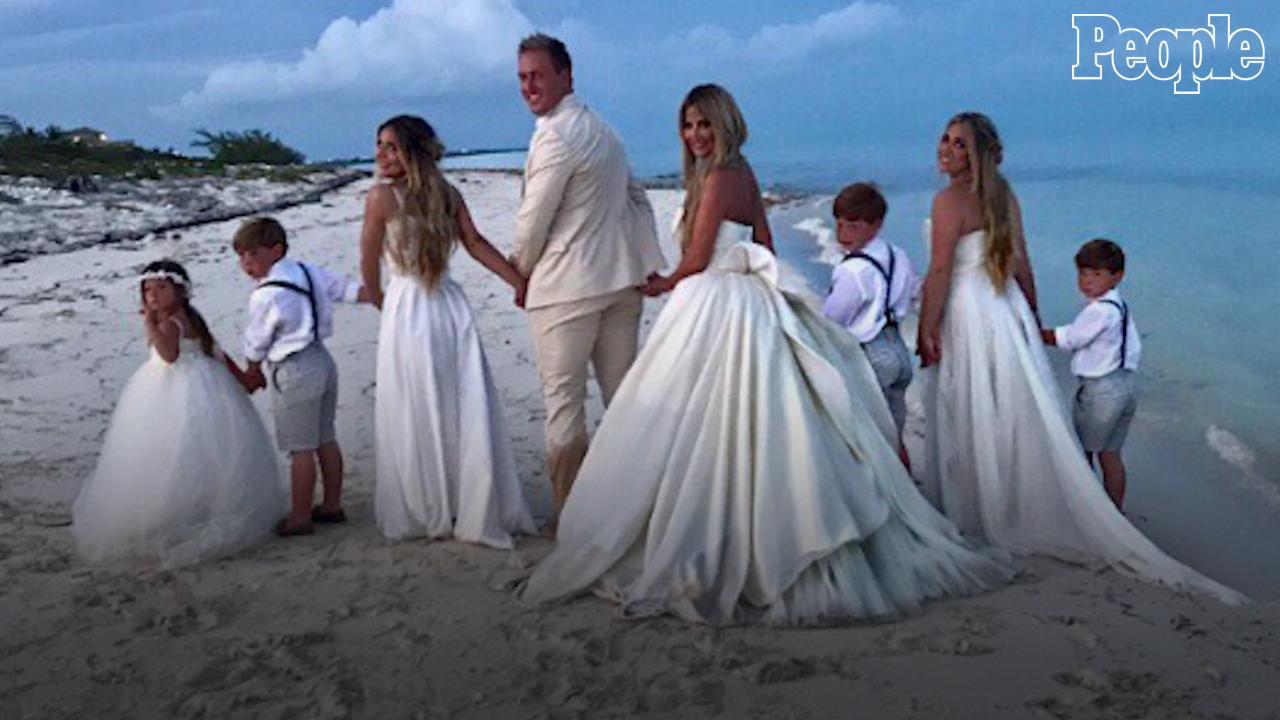 Kim Zolciak Biermann Renews Wedding Vows to Kroy Biermann | PEOPLE.com