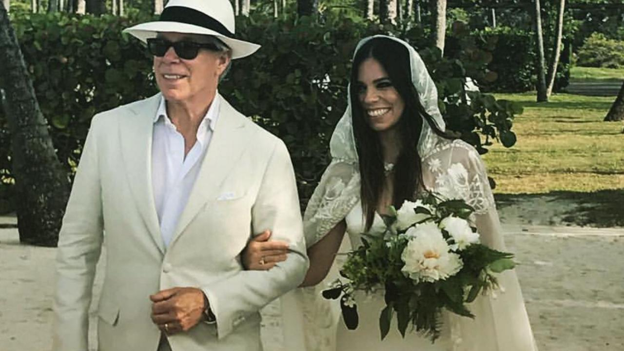 WeddingThanks To Dress Bride A Dad Ultimate Was Ally Hilfiger Boho Hilfiger's The At By Tommy Her Designed Daughter qSzUMGVLp