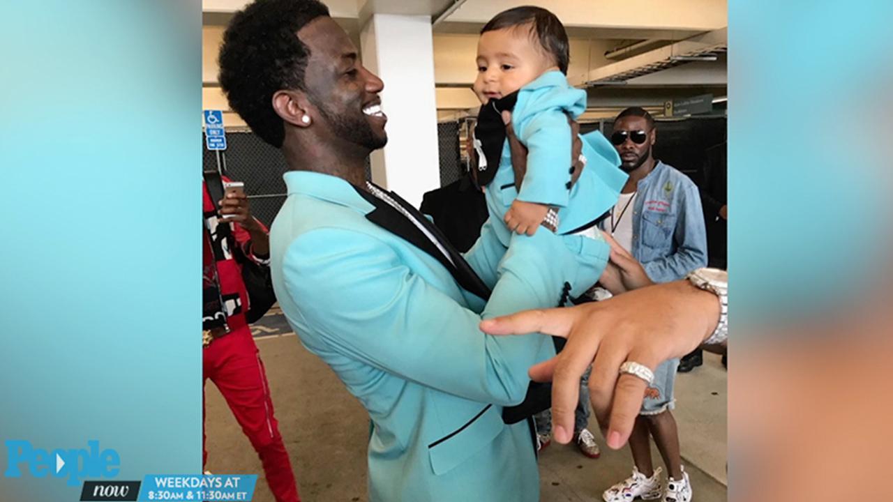MTV VMAs 2017: DJ Khaled\'s Son\'s $2,000 Gucci Suit | PEOPLE.com