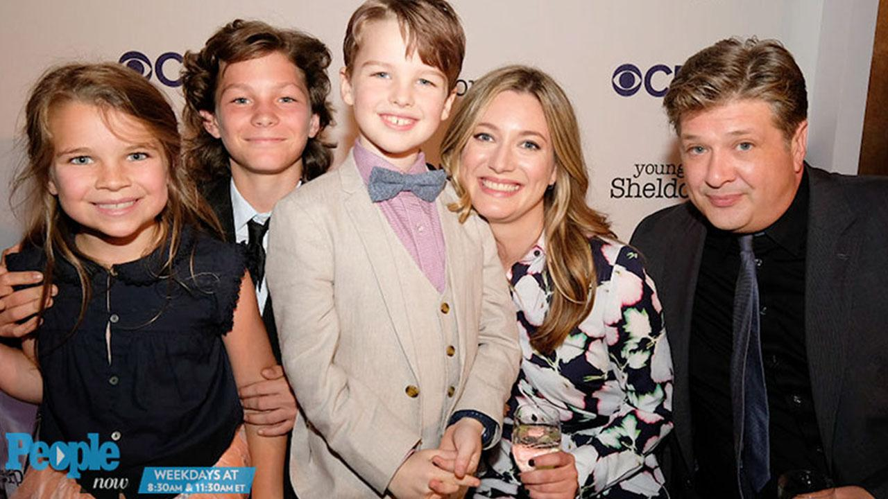 Young Sheldon Stars Iain Armitage Zoe Perry React To The Overwhelming Response Of The Show S Trailer