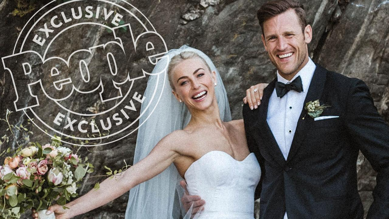 Julianne Hough Is Married The Dwts Judge Weds Nhl Star