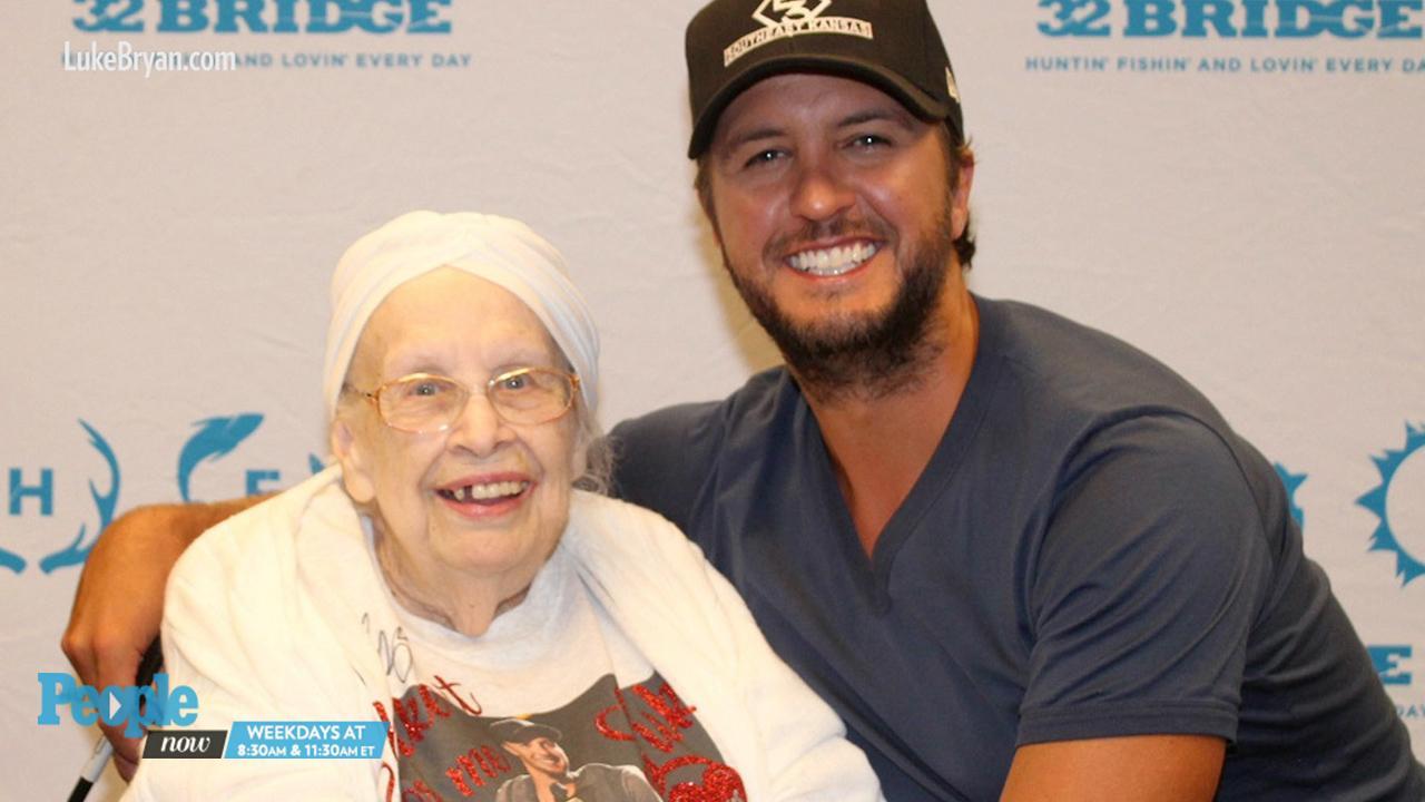 94661160fd2 Luke Bryan Finally Breaks His No Butt-Touching Rule for 88-Year-Old  Terminally Ill Fan