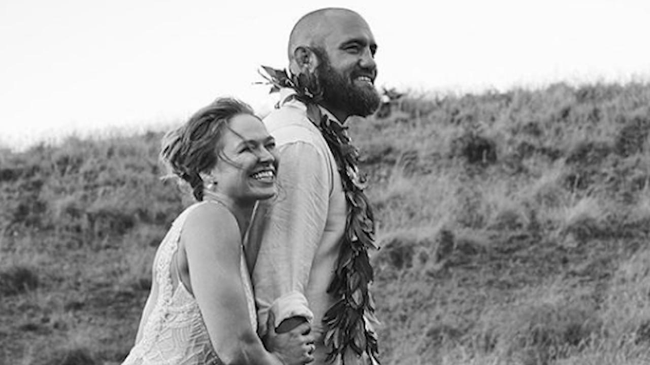 Ronda Rousey with Travis Browne