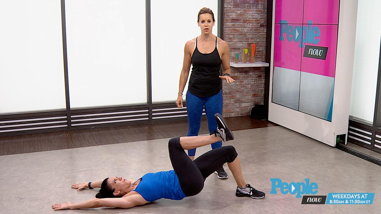 Get In A Workout In Just Three Minutes With Jenna Wolfe People Com