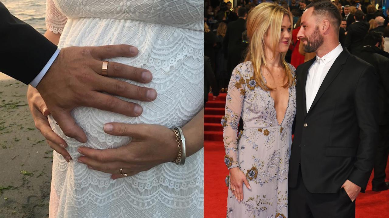 Pregnant Julia Stiles Marries Preston J Cook In Shotgun Wedding Celebration
