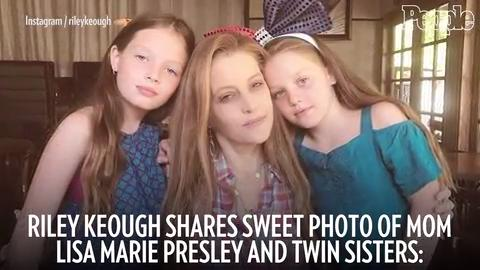 Lisa Marie Presley Spends Sweet Moment With Her Twins People