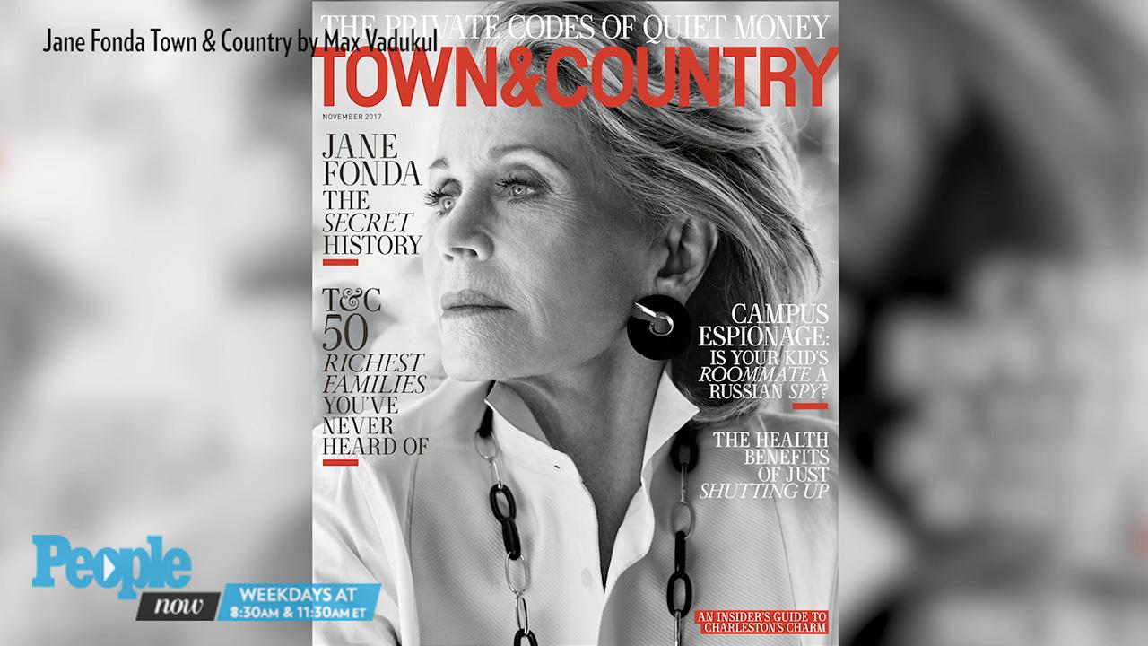 best authentic 62c7a c800b Jane Fonda Is Unretouched for Town  Country Cover  PEOPLE.co