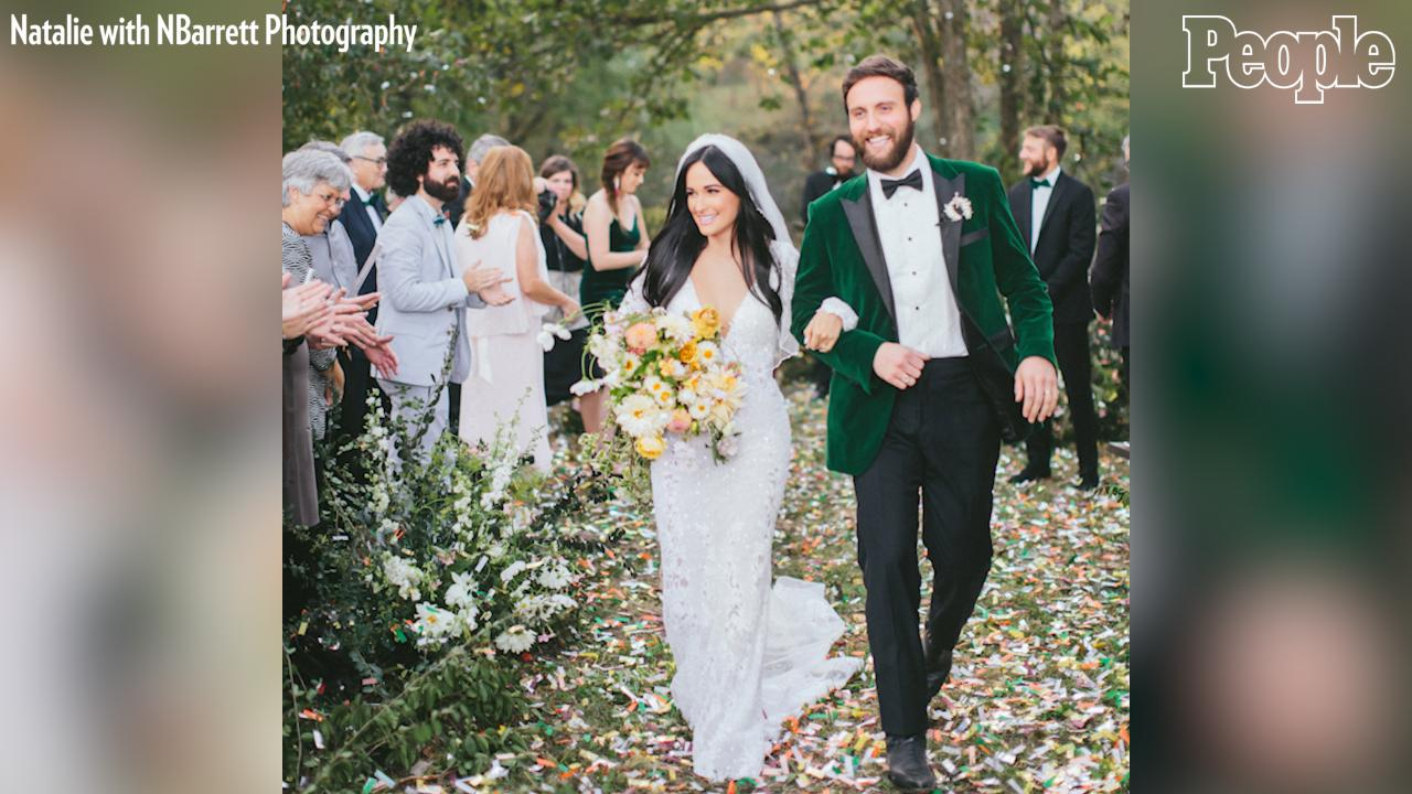Kacey Musgraves Appears to Smoke Pot in Wedding Dress in