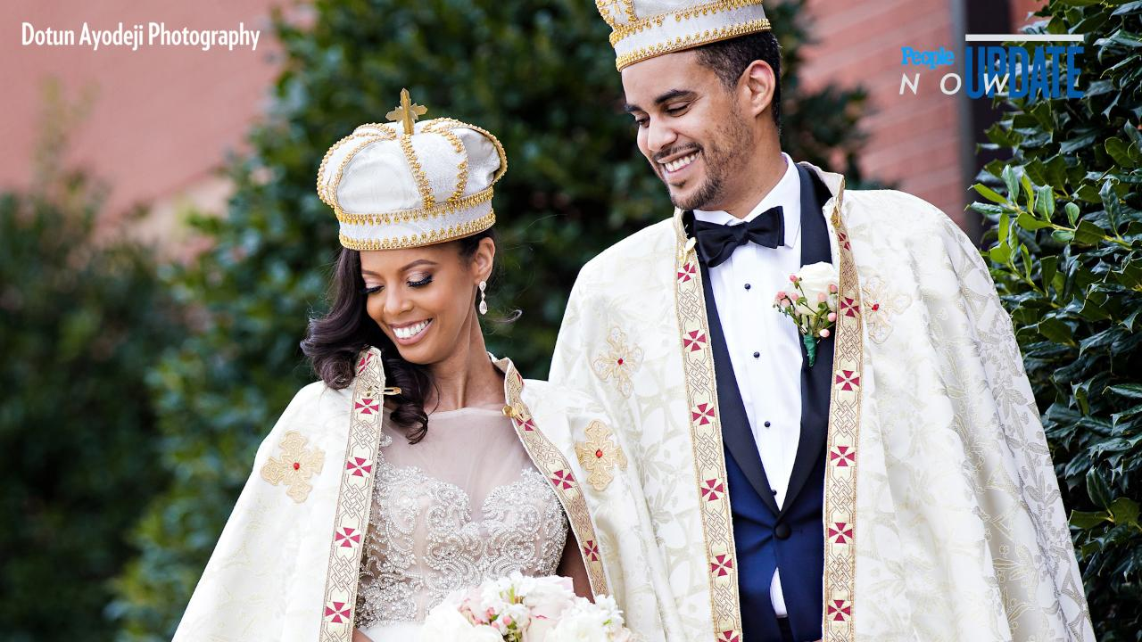 Ethiopian Wedding Dress 65 Perfect American Woman Weds a