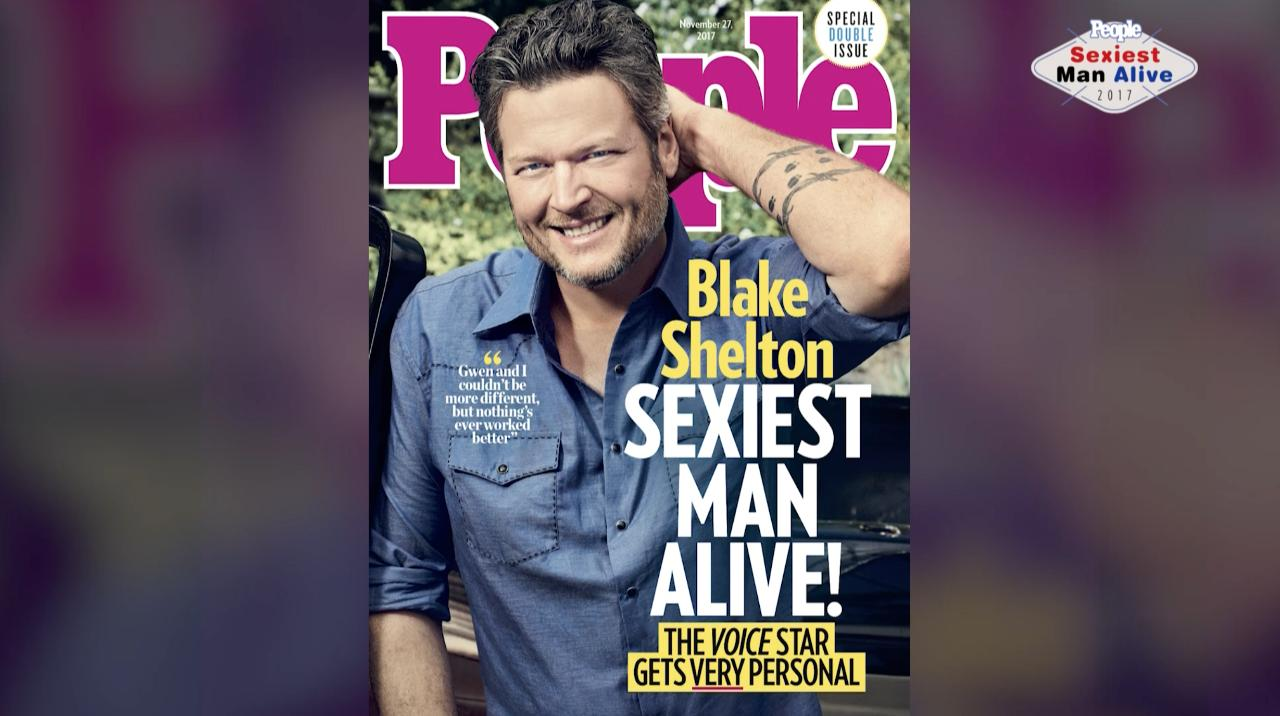 aef61379fc476 Blake Shelton Is PEOPLE s 2017 Sexiest Man Alive