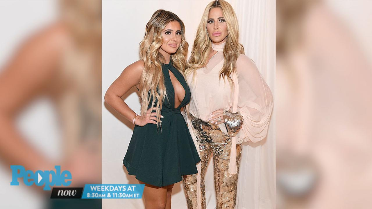 Kim Zolciak Encourages Daughter to Flash Breast in Snapchat Video |  PEOPLE.com