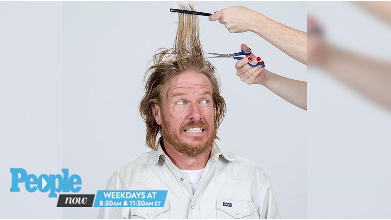 Chip Gaines Shaves Off His Signature Long Hair People