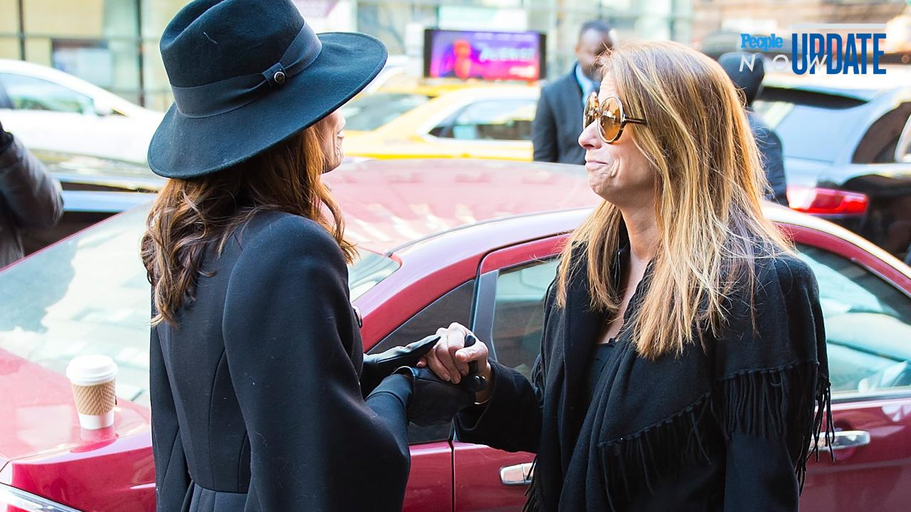 Jill Zarin On Reunion With Bethenny Frankel At Bobbys Funeral