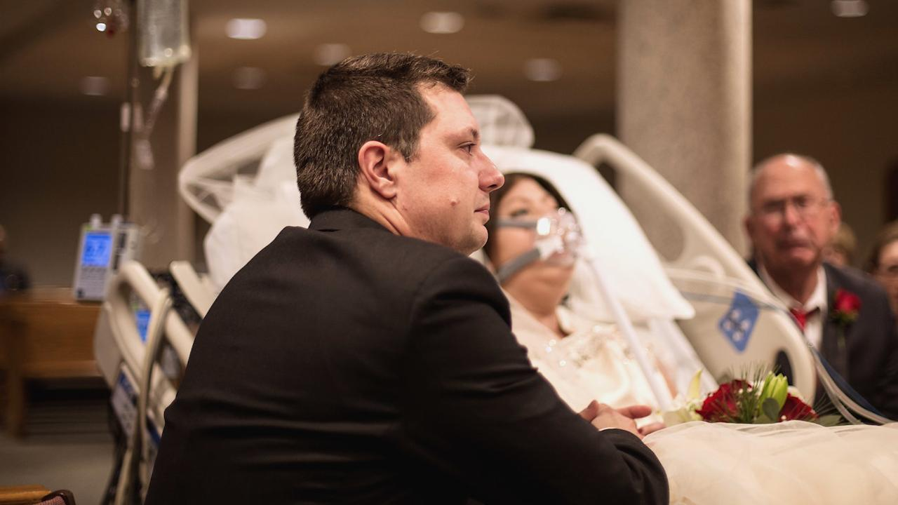 Husband of Bride Who Died of Breast Cancer 18 Hours After Hospital Wedding  Speaks Out