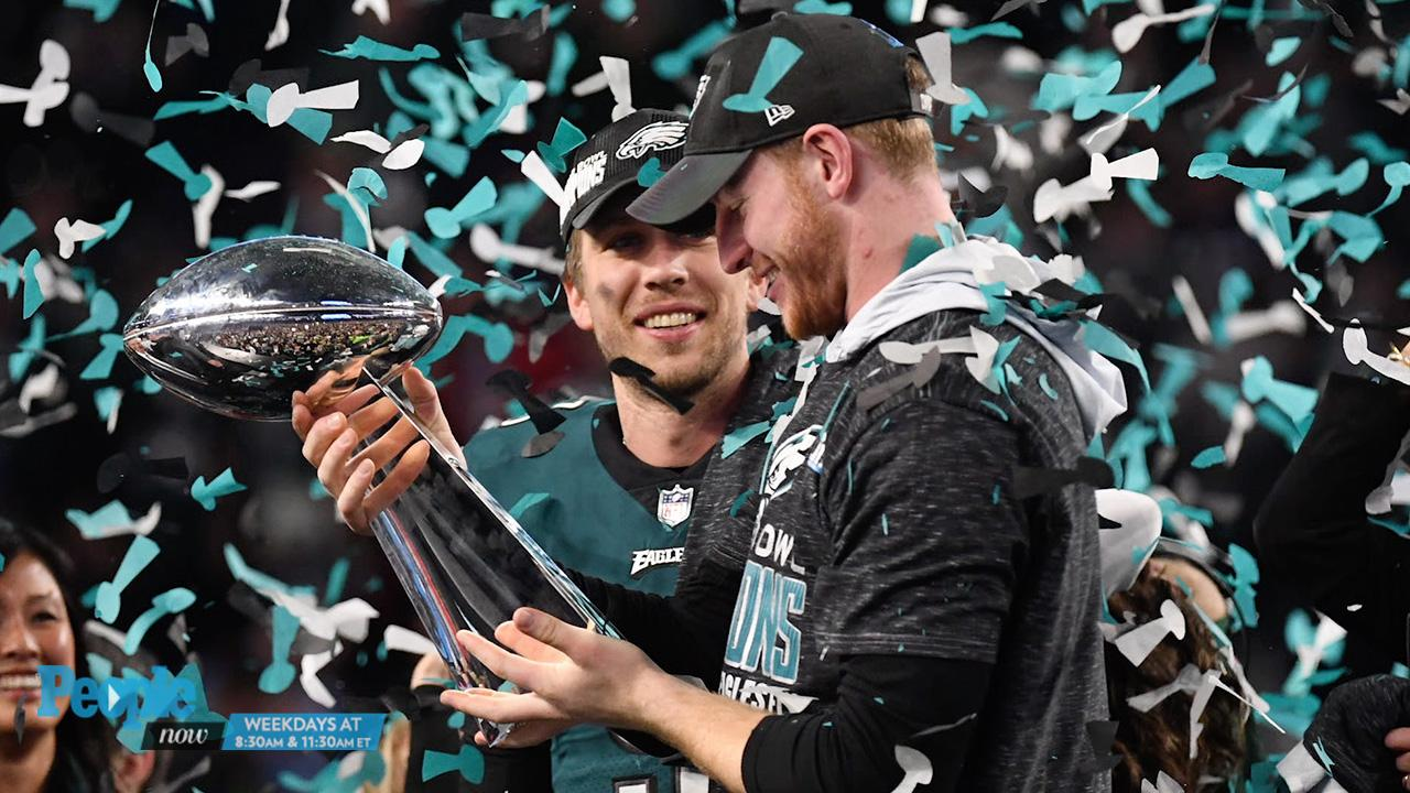 Carson Wentz Wedding.Philadelphia Eagles Fly To Their First Ever Super Bowl Win In Stunning Victory Against Patriots
