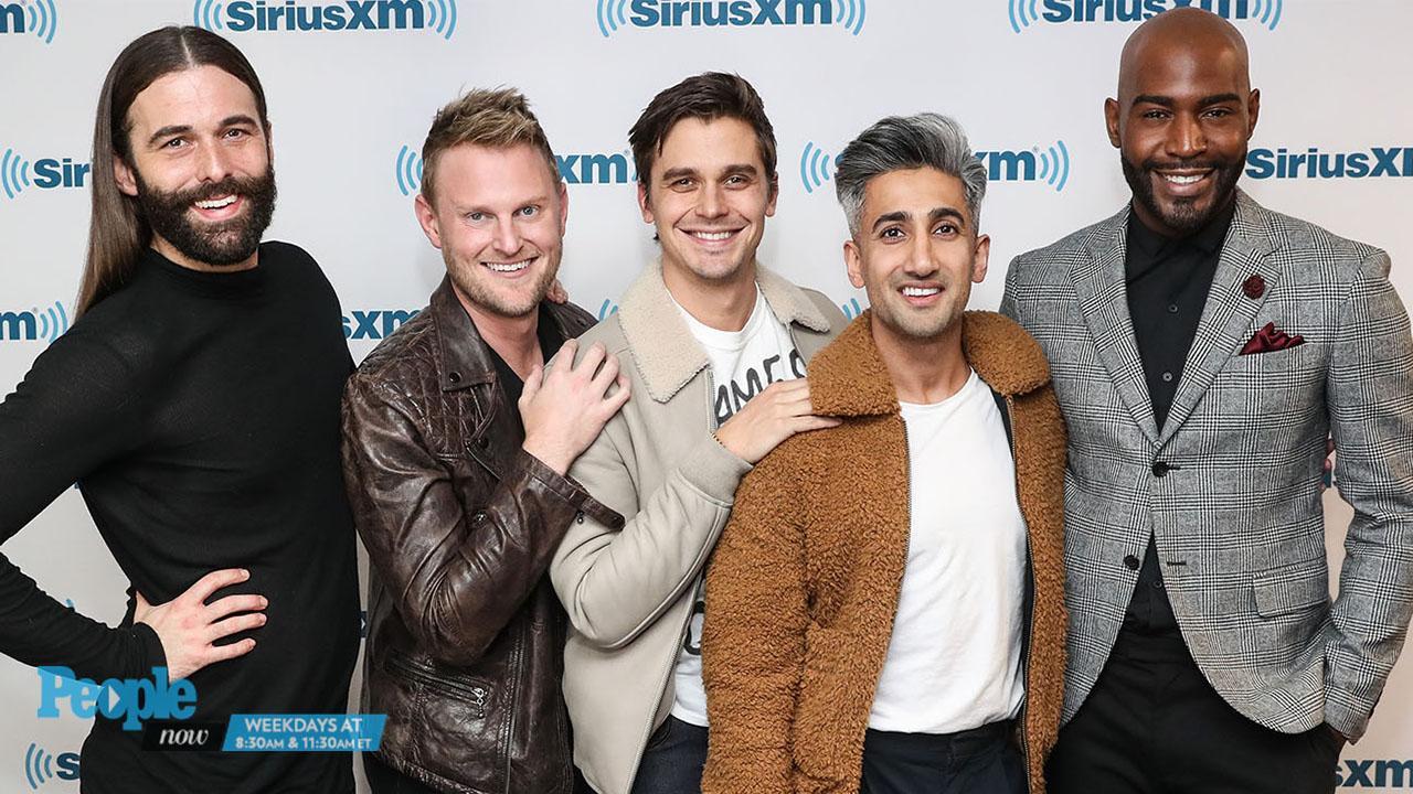 Queer Eye Original Fab Five Meets Netflix S New Cast People Com