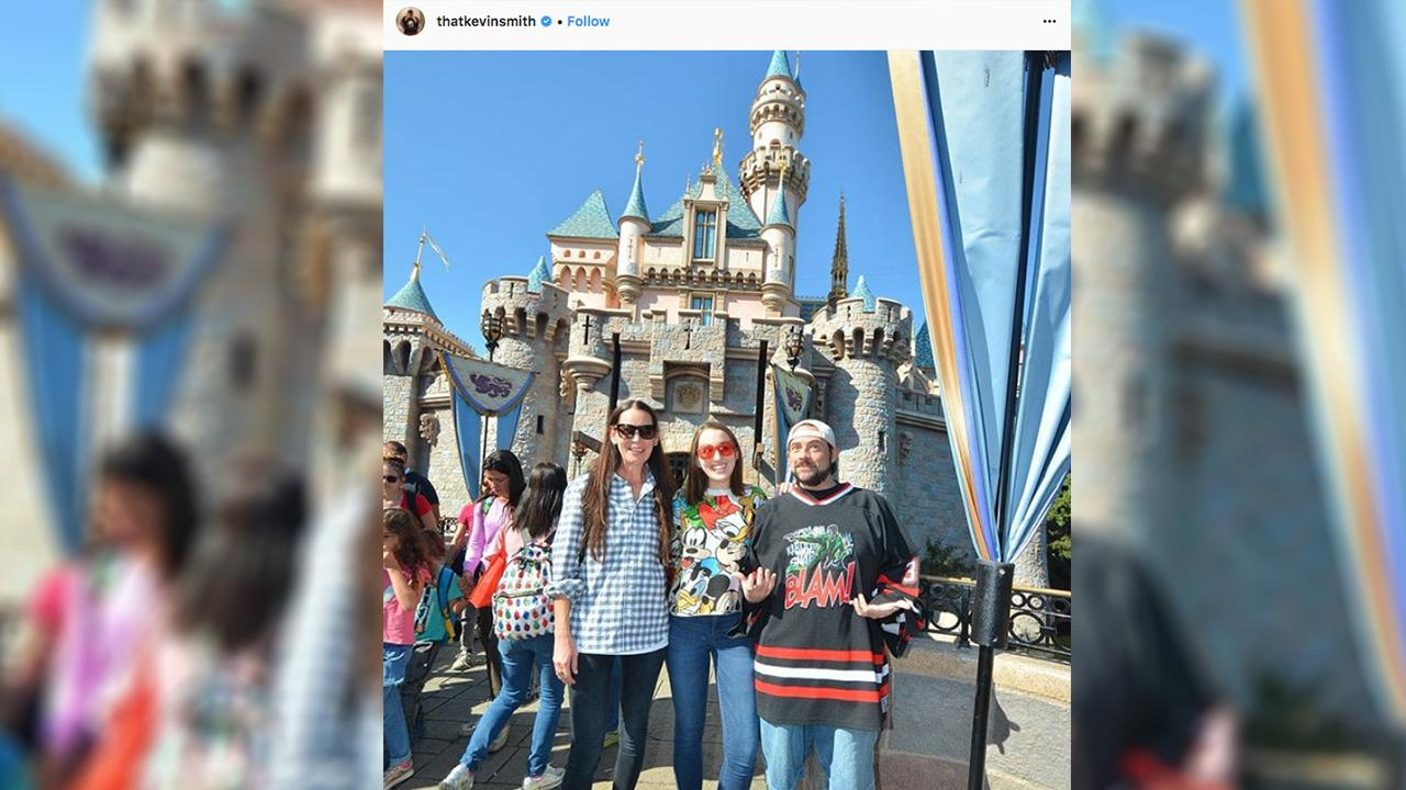 Kevin Smith Celebrates Surviving Massive Heart Attack with a Family Trip to  Disneyland