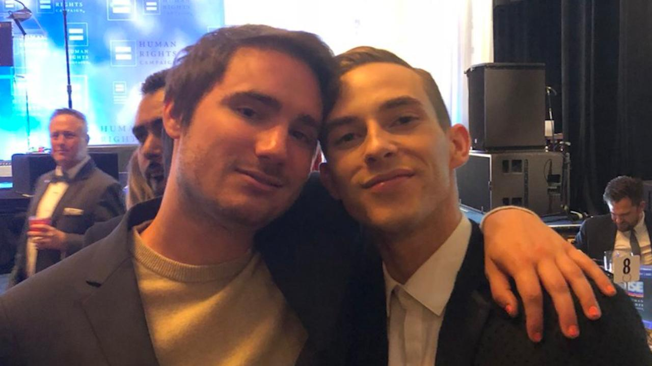 Sally Field's Son Meets Adam Rippon After Actress Tried to Play Matchmaker
