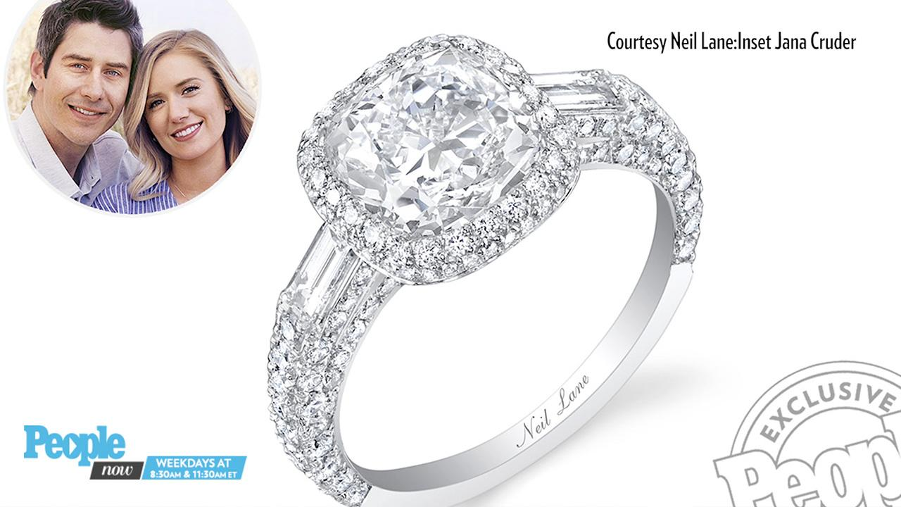 dbdf76430 Bachelor Arie Luyendyk Jr. Proposes to Lauren Burnham: See the Ring |  PEOPLE.com