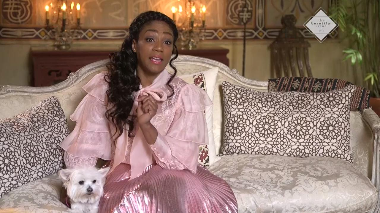 Tiffany Haddish Says Getting a Perm to Impress Guys Was Dumb: 'They're Gonna Like You Anyway, You a Girl'