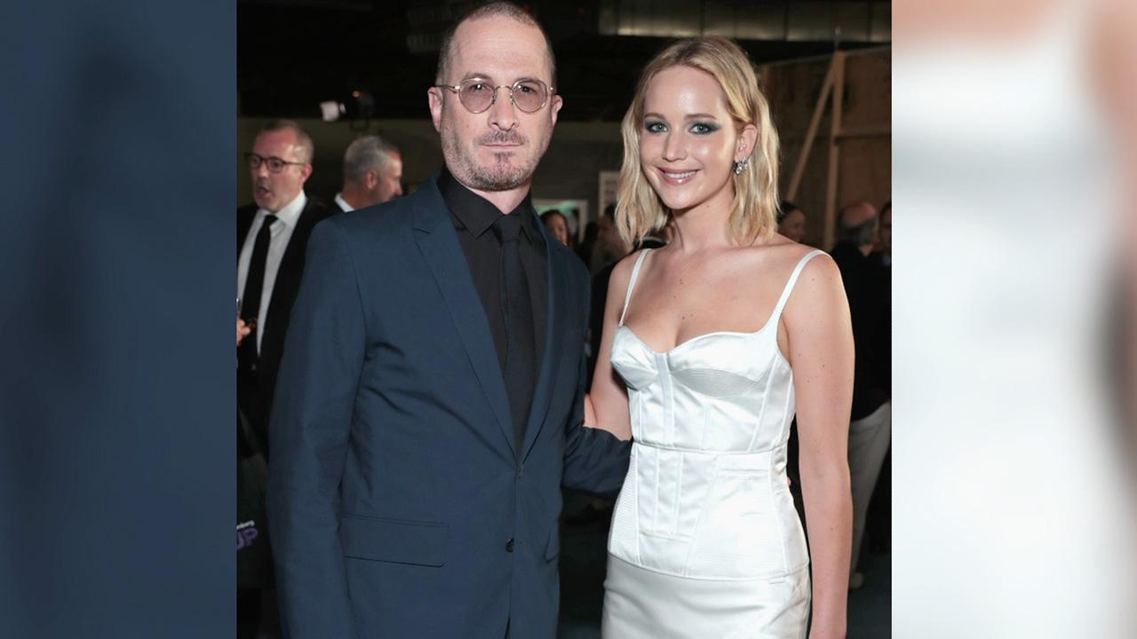 Jennifer Lawrence Supports Ex and 'Very Good Friend' Darren Aronofsky at  N Y C  Event