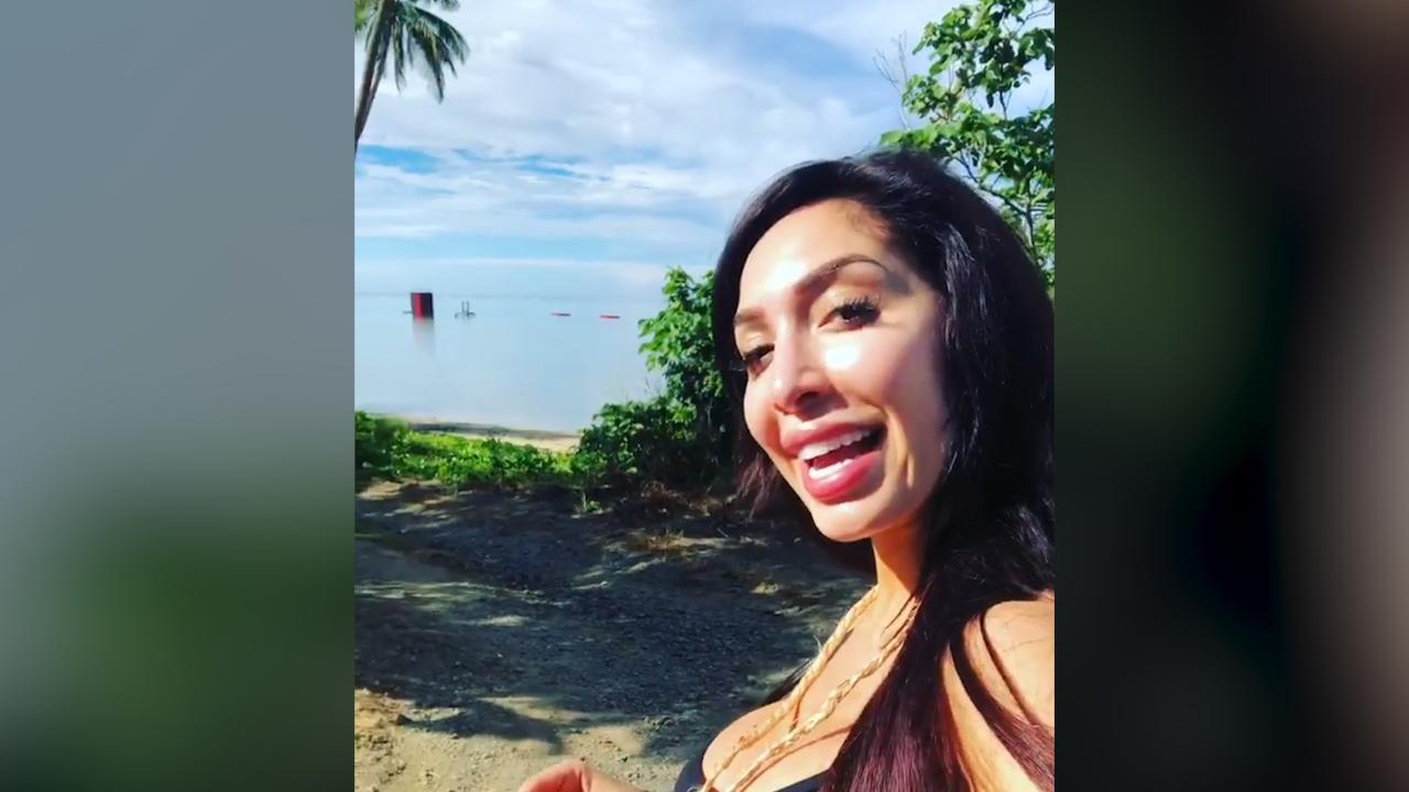 Farrah Abraham & Daughter Vacation in Fiji After Teen Mom OG Firing &  Stumble Across Survivor Set