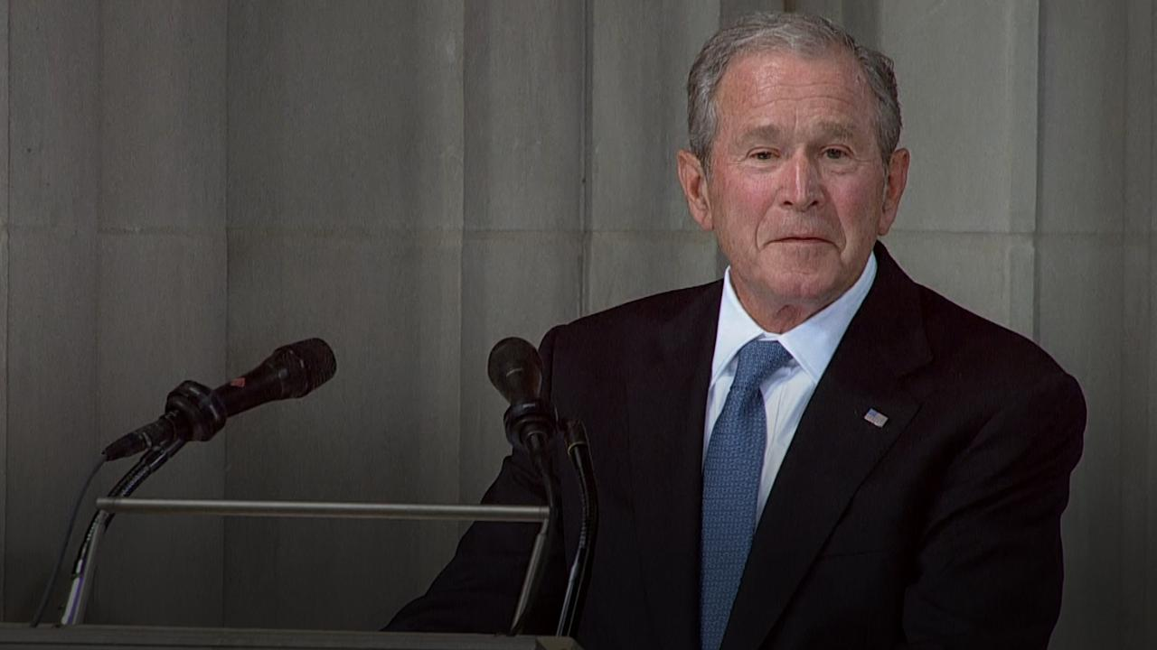 an analysis of the president george bush versus senator john kerry With president george w bush possibly in a position to appoint one or more new justices to the us supreme court in his second term, the fate of the roe v wade decision establishing a constitutional right to an abortion is being debated.