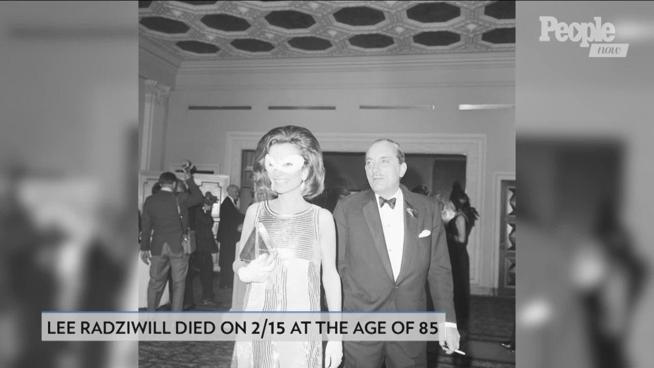 Lee Radziwill's Daughter-in-Law Carole on Final Years | PEOPLE com