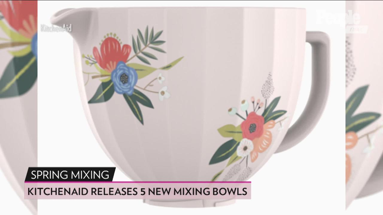 Awe Inspiring Kitchenaid Releasing 5 New Uniquely Patterned Stand Mixer Interior Design Ideas Gresisoteloinfo
