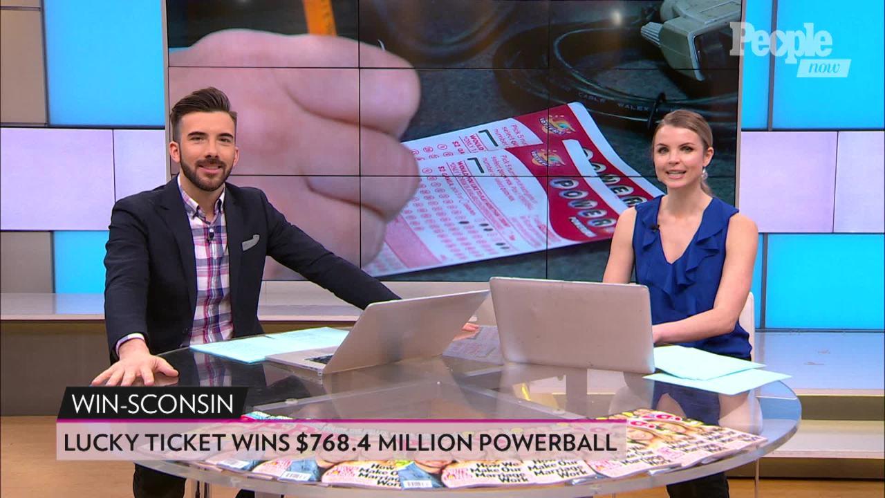 Winning $768 4 Million Powerball Ticket Sold in Wisconsin