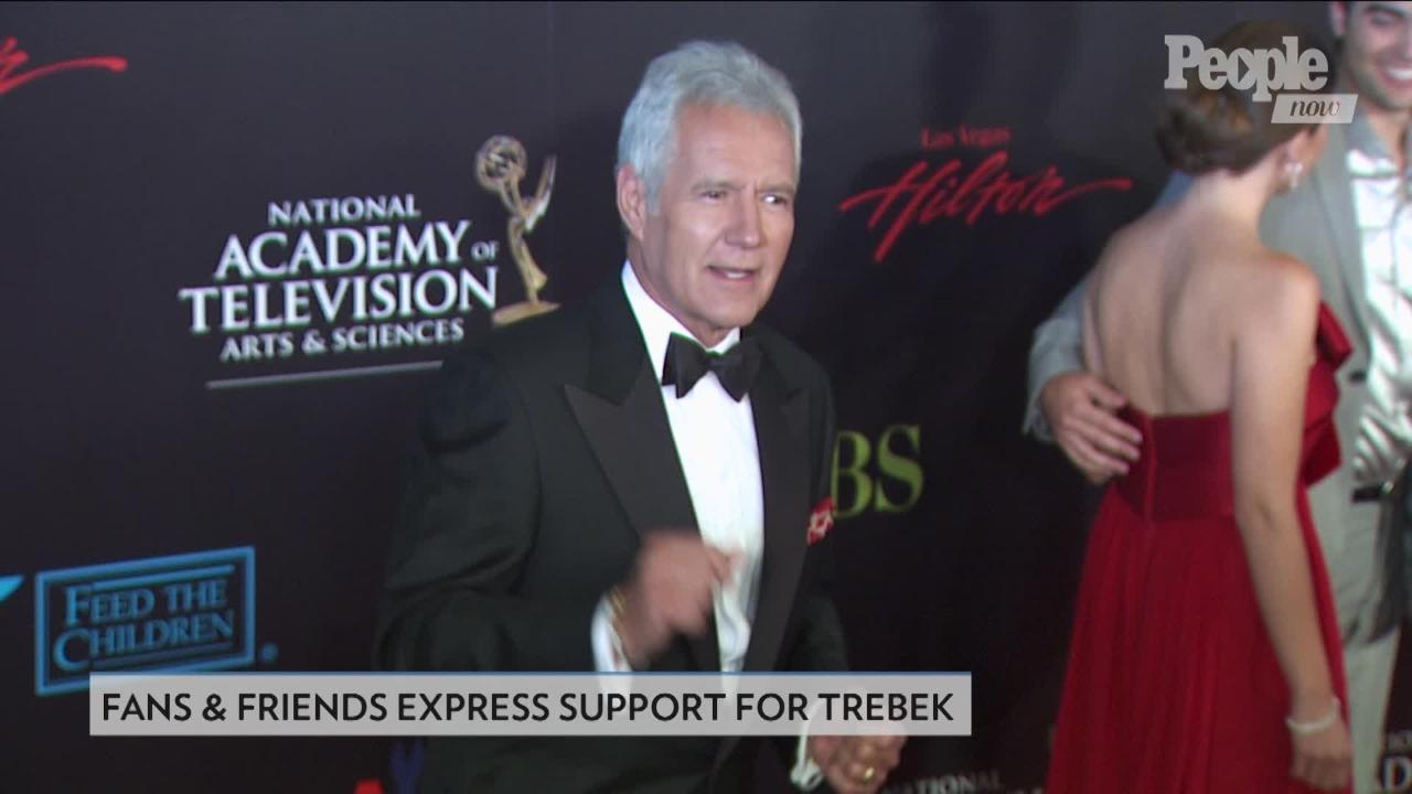 Alex Trebek's Cancer Diagnosis: Pat Sajak, Stars Send Well